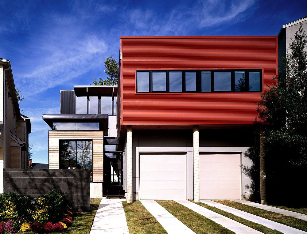 Gorgeous and modern Orange House in Memphis