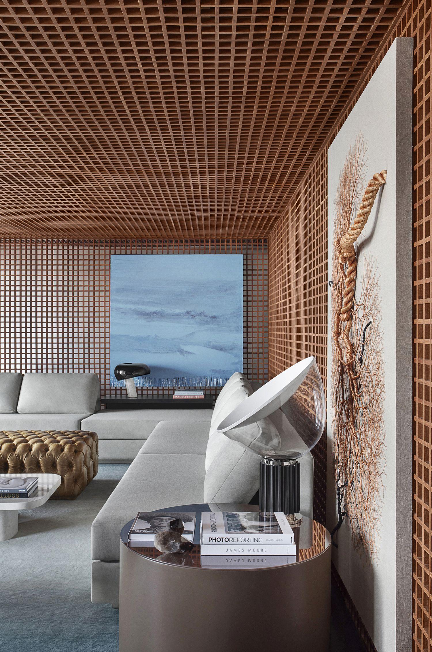 Grid-House-gets-its-name-from-custom-wood-framework-inside-its-home