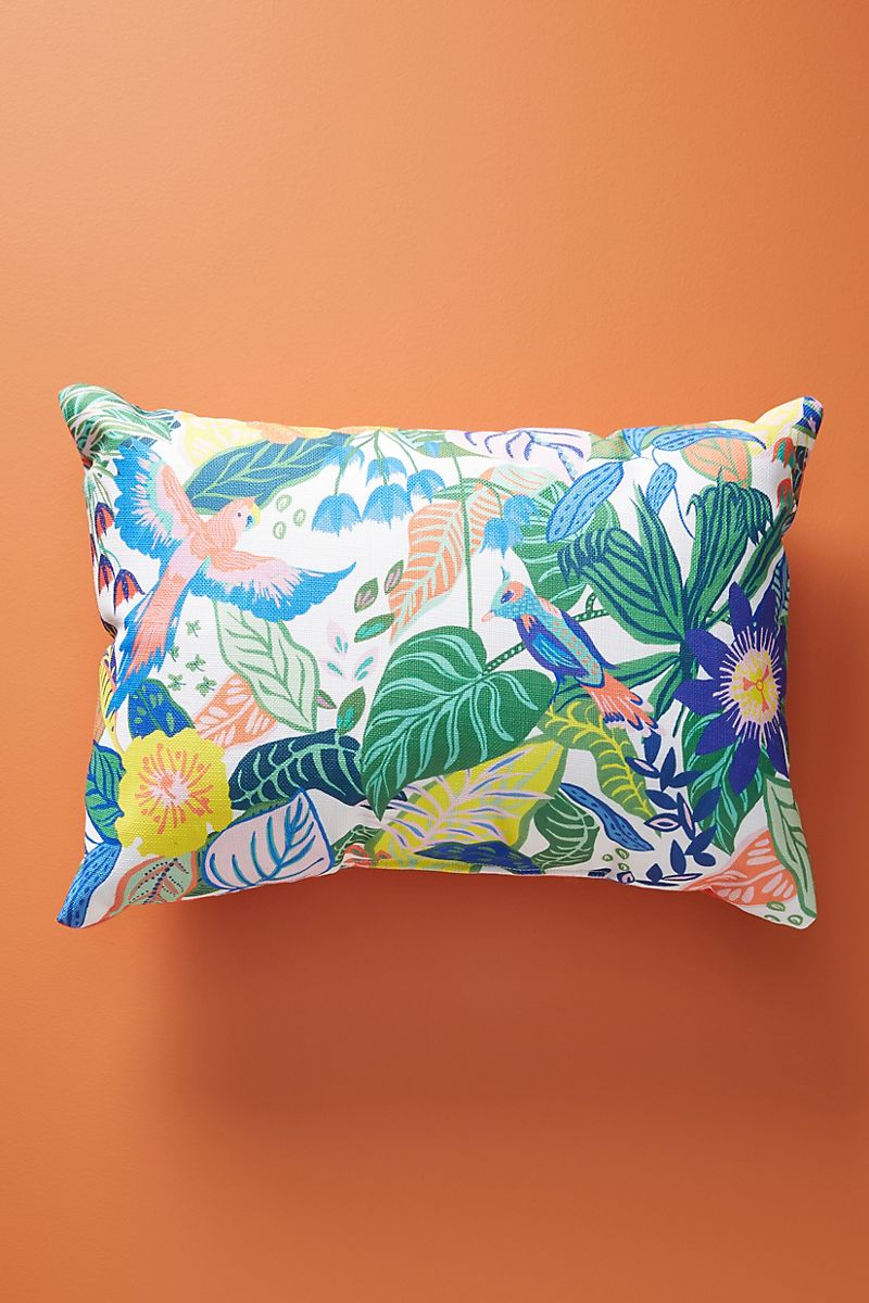 Indoor outdoor pillow from Anthropologie