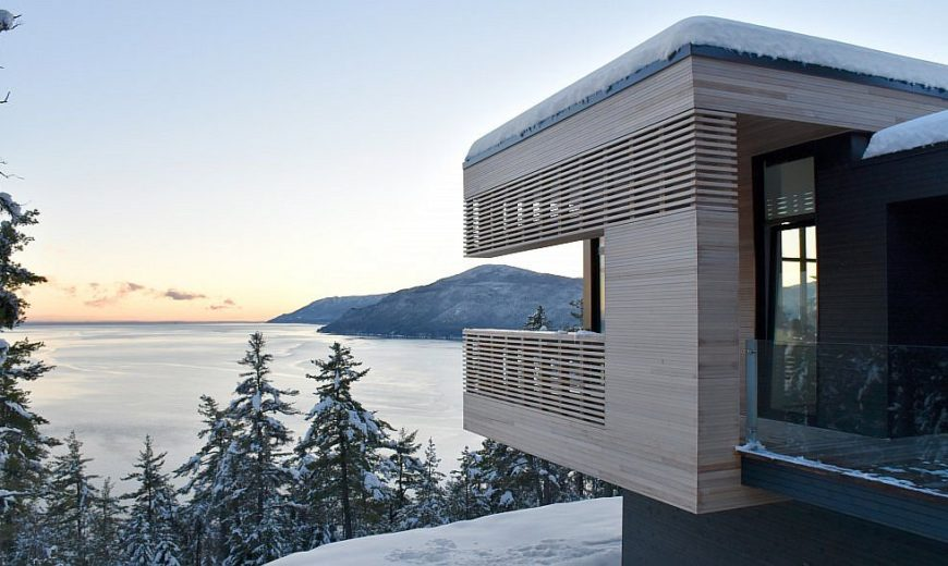 Spectacular St. Lawrence River Views Await at this Stunning Canadian Residence
