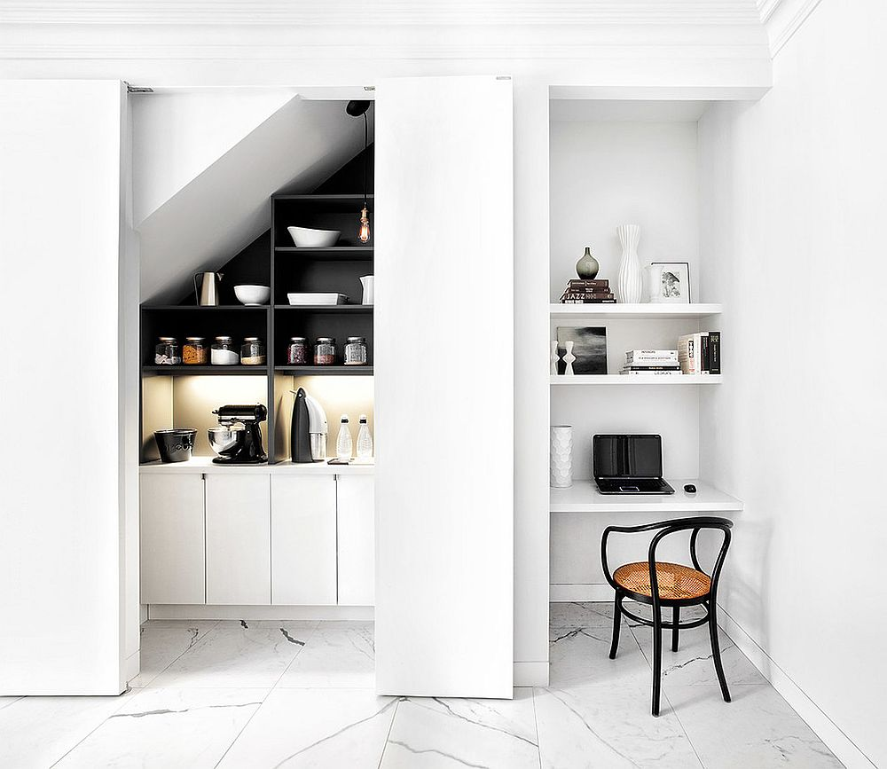 20 Fabulous Kitchen Office Ideas that Save Space in Style! on art ideas for office, bonus room ideas for office, breakfast ideas for office, golf ideas for office, party ideas for office,