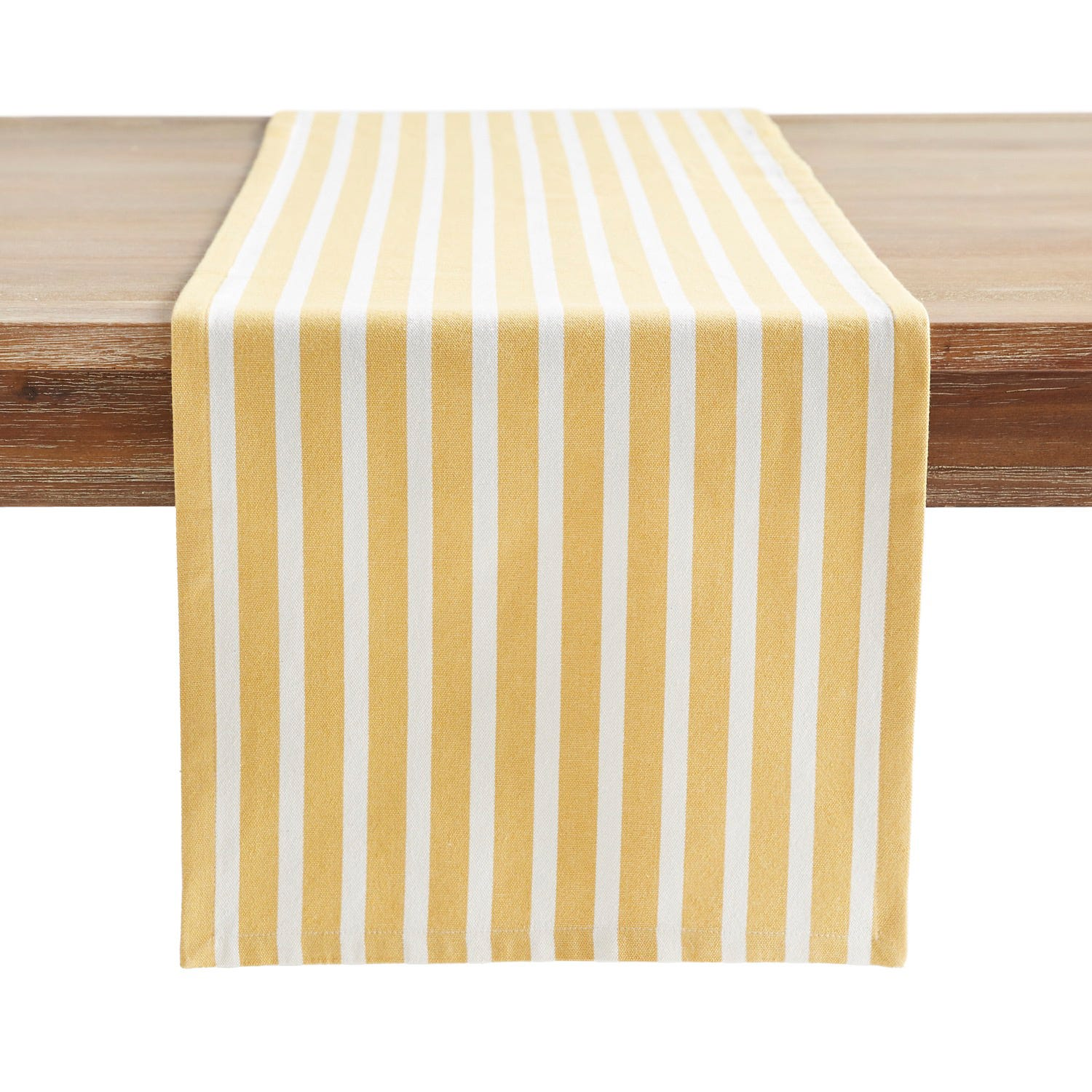 Striped table runner from Pier 1