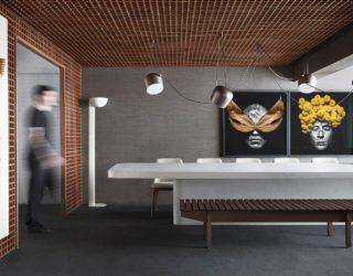 Grid House: Custom Wood Framework Meets Polished Ambiance in Sao Paulo