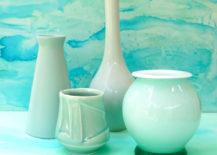 Vases-in-shades-of-aqua-217x155