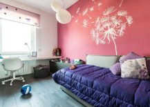 Wall-mural-for-the-accent-pink-wall-in-the-small-kids-room-217x155
