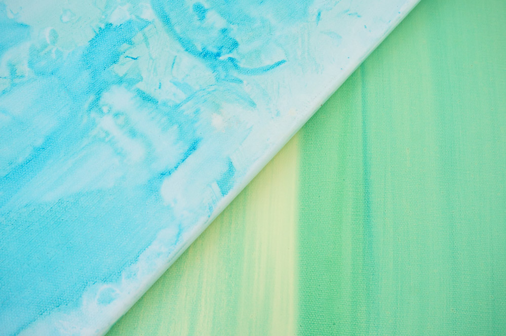 Watercolor-paintings-in-blues-and-greens