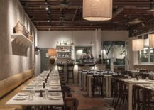 Wooden-ceiling-for-the-restaurant-gives-it-a-classy-aged-look-217x155