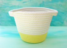 Yellow-and-white-woven-basket-for-storage-217x155