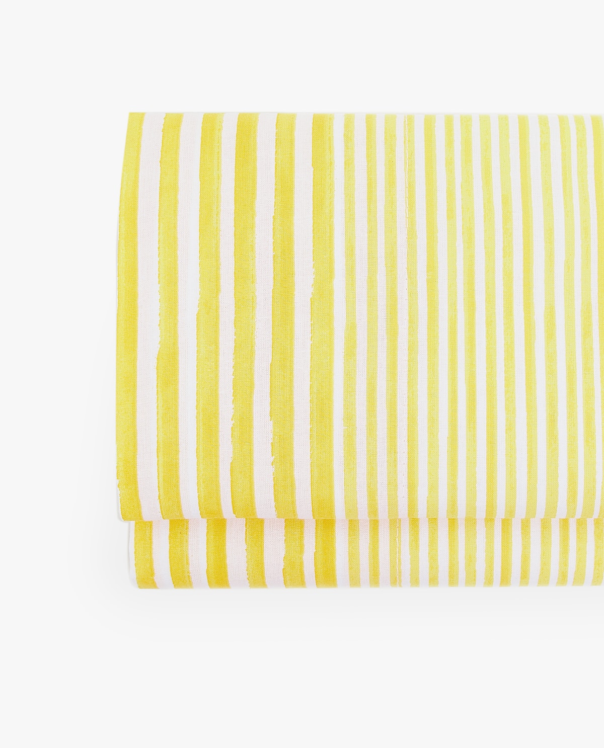 Yellow striped sheets from Zara Home