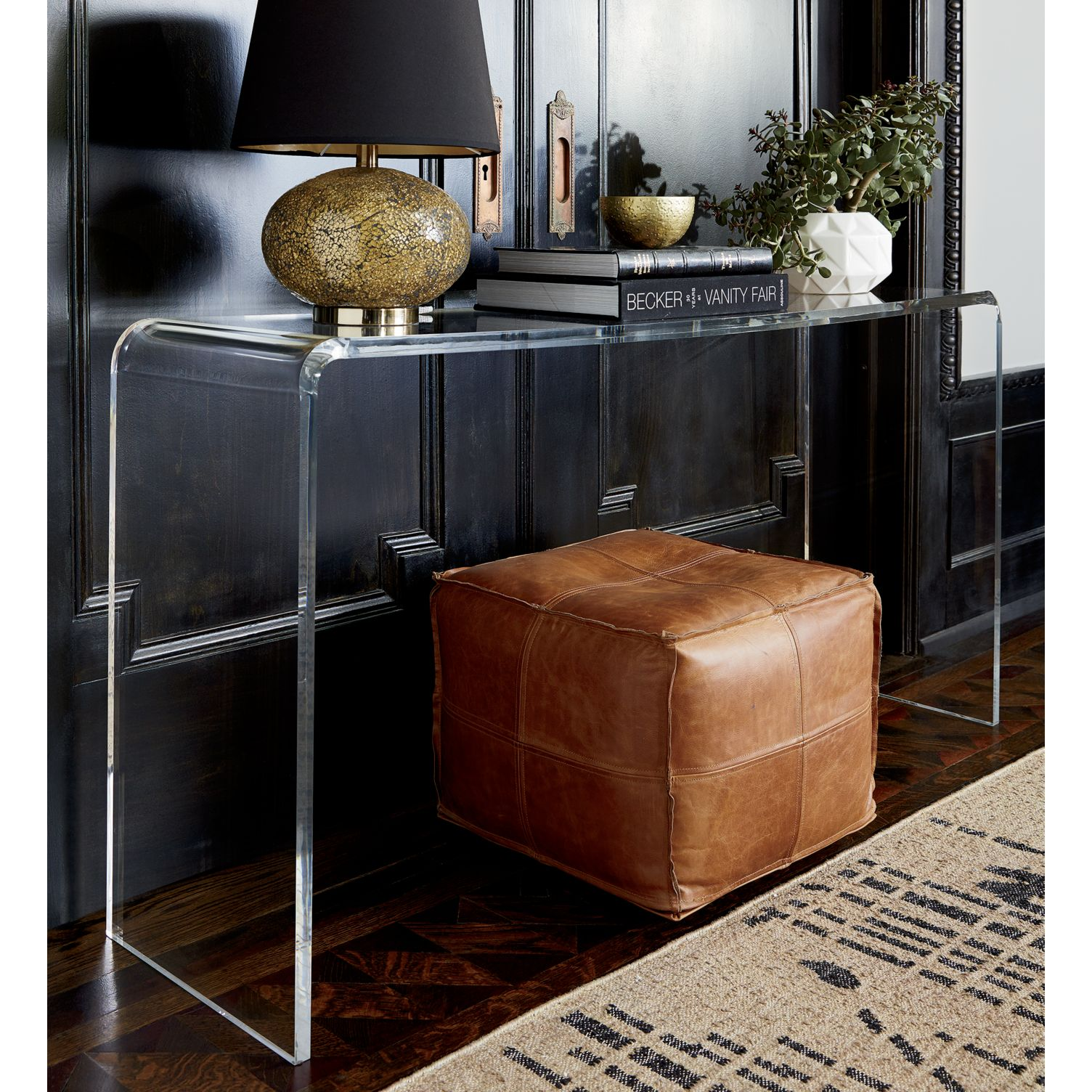 Clear console table from CB2