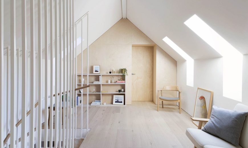 Japanese and Scandinavian Minimalism shapes this Home in Sydney's Blue Mountains