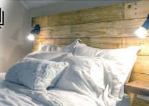 How to make a headboard 35 great ideas - Make your own headboard ...
