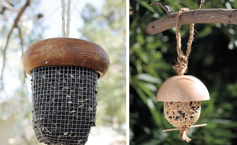 DIY-Acorn-bird-feeder-idea