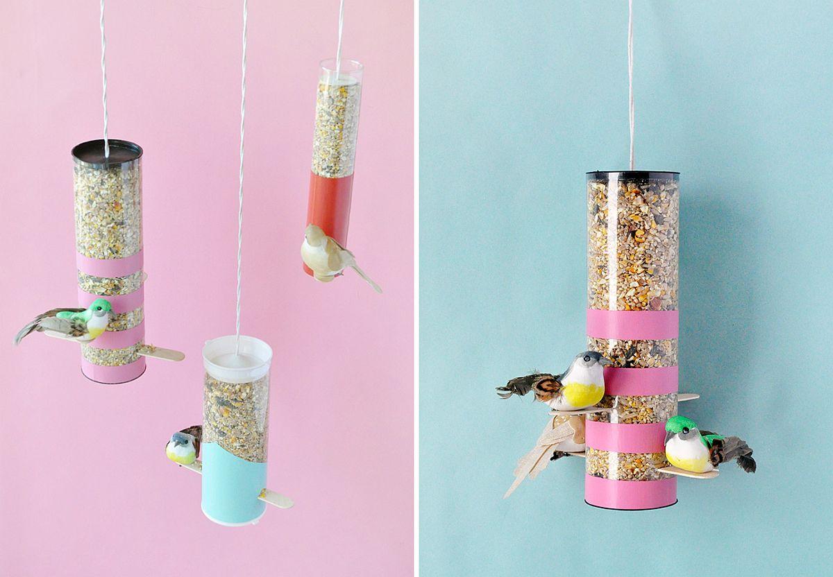 DIY-colorblock-bird-feeders-full-of-vivacious-color-from-Handmade-Charlotte