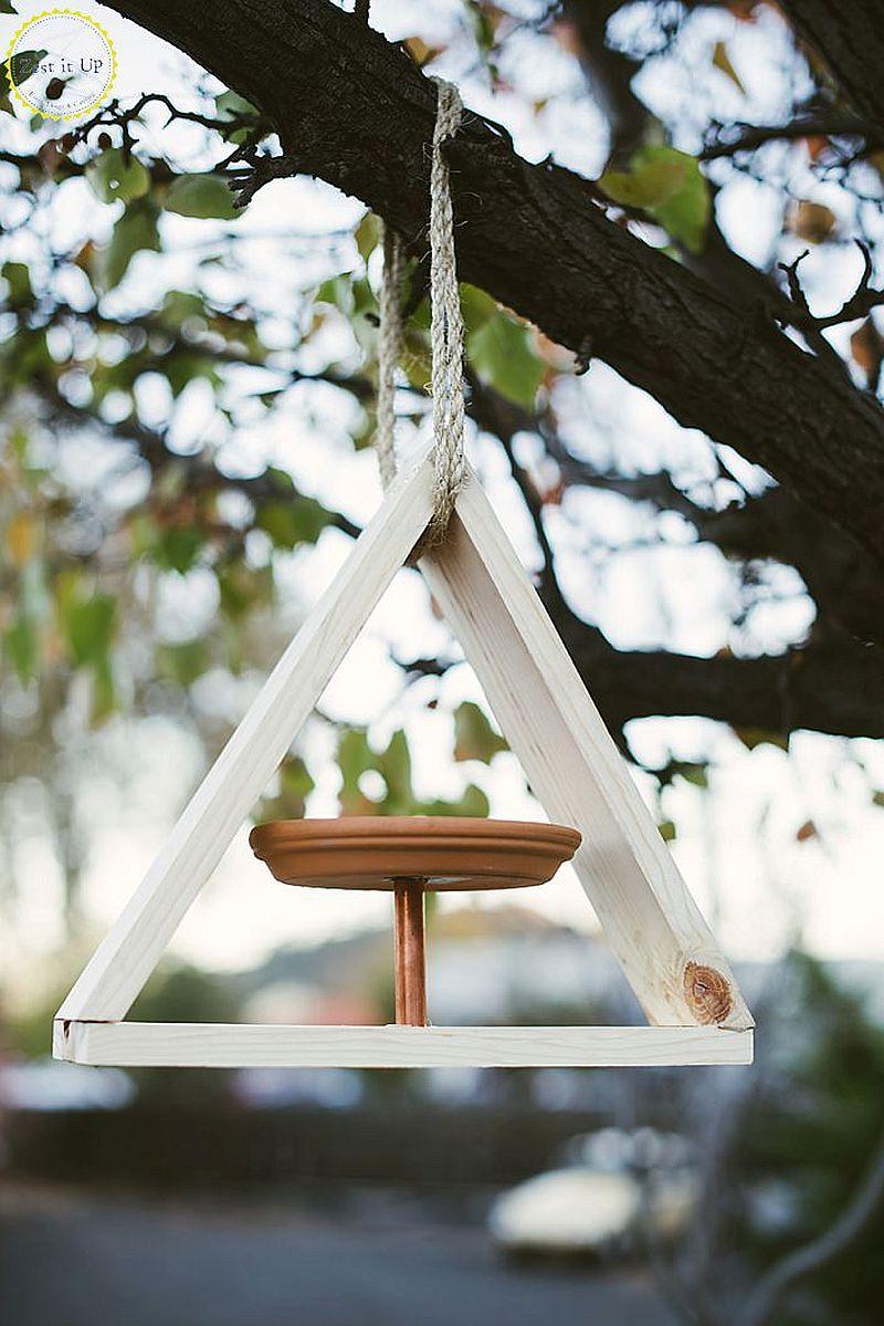 DIY-geo-style-wood-and-copper-bird-feeder