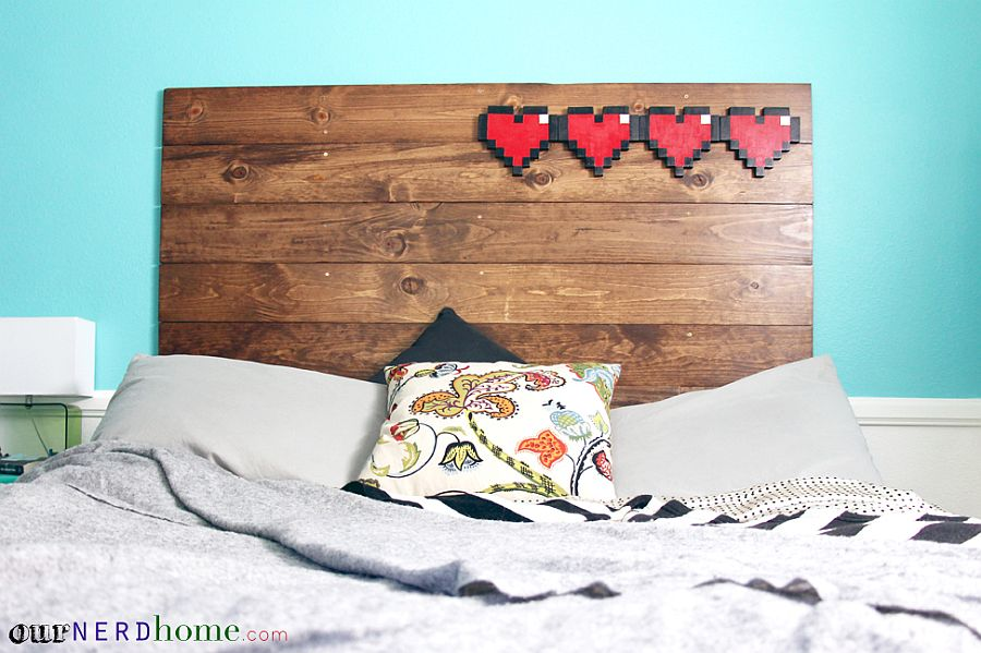 Decorate-your-DIY-wood-headboard-in-simple-style