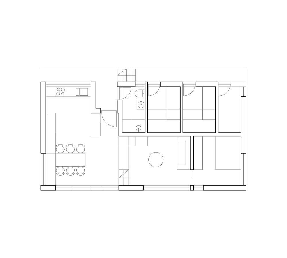 Design-plan-of-Cabin-Harr-in-Malmøya