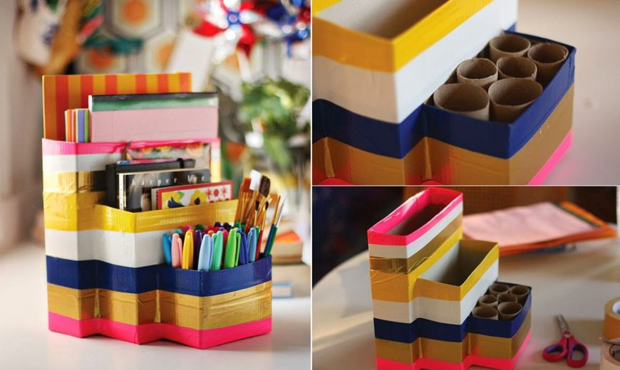 20 DIY Desk Organizer Ideas and Projects to Try