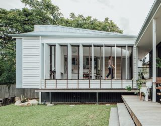 Poorly Planned Home in Brisbane Gets a Facelift with a New Pod in the Backyard