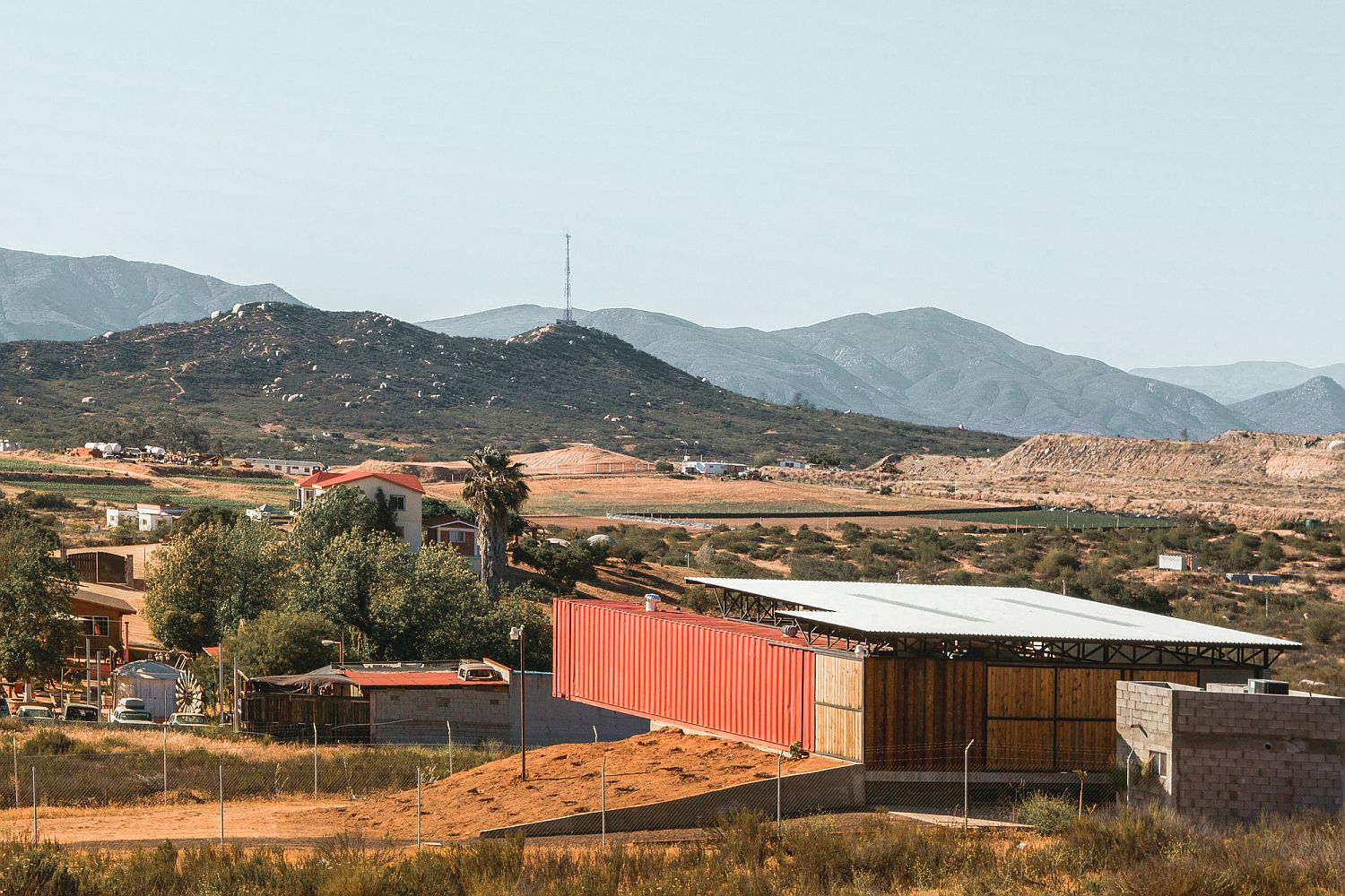 Fabulous contemporary winery at the heart of Mexico's wine country