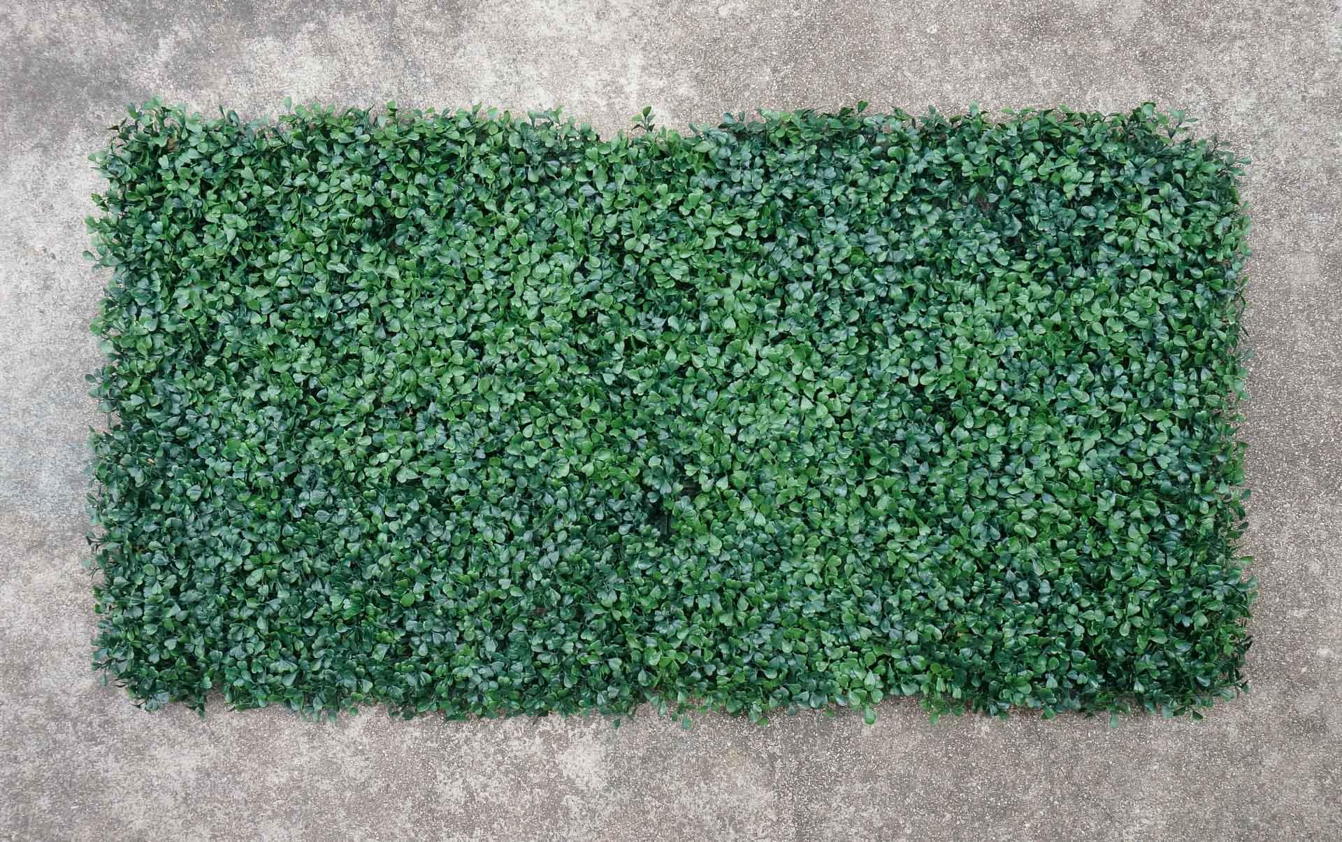 Faux-plant-panels-make-the-perfect-backdrop