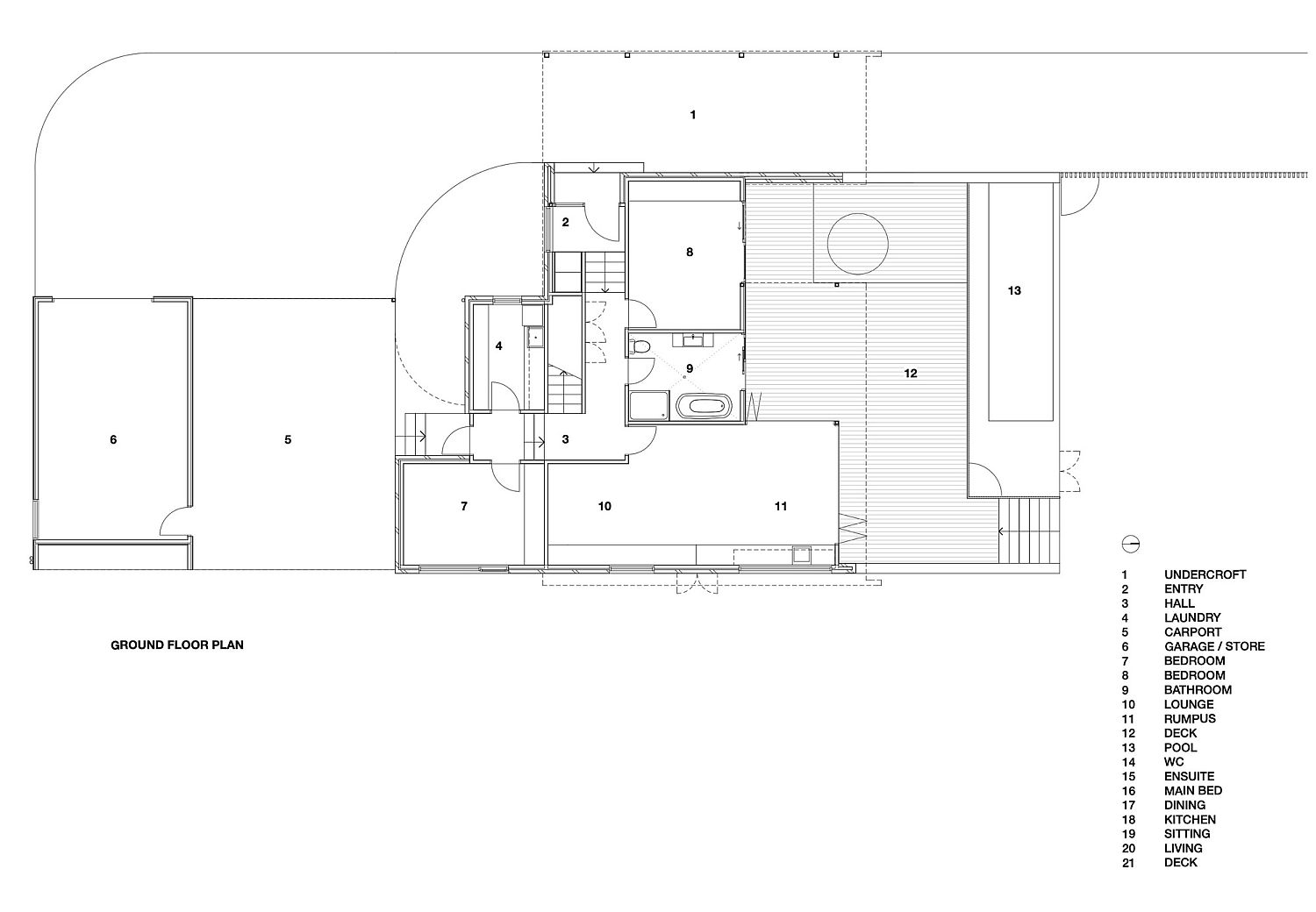 Ground-floor-plan-of-the-Shearwater-House