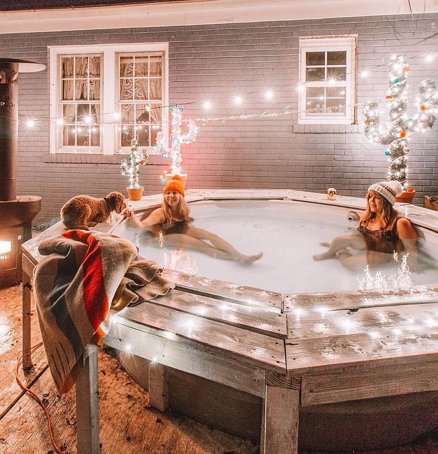 Hot Tub Stock Tank Pool DIY from