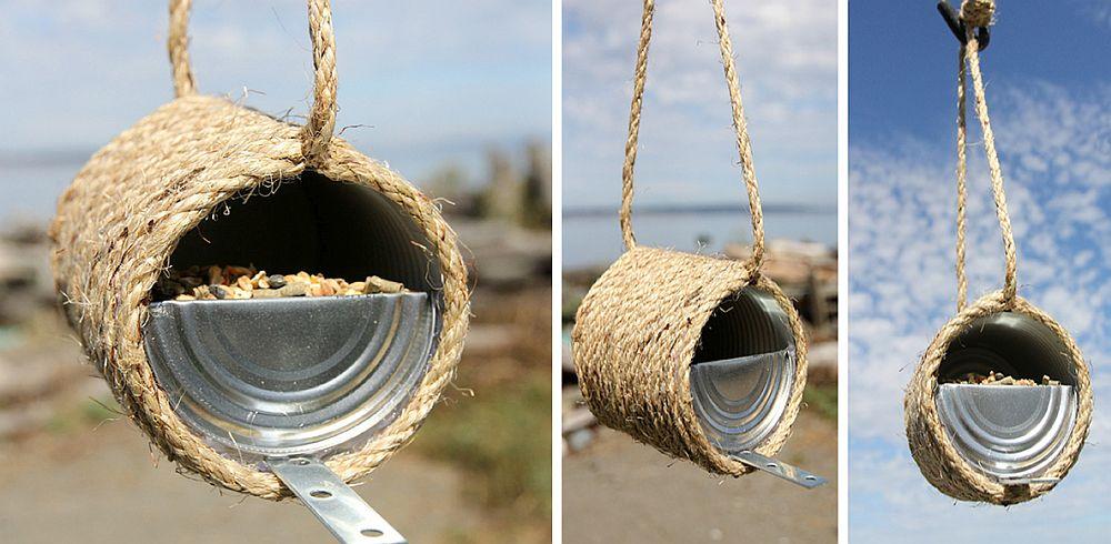 Innovative-DIY-Sisal-Rope-Bird-Feeder-Idea