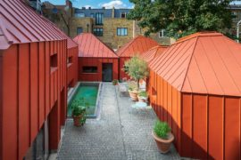 Tin House: Metallic Orange Masterpiece of a House in London!