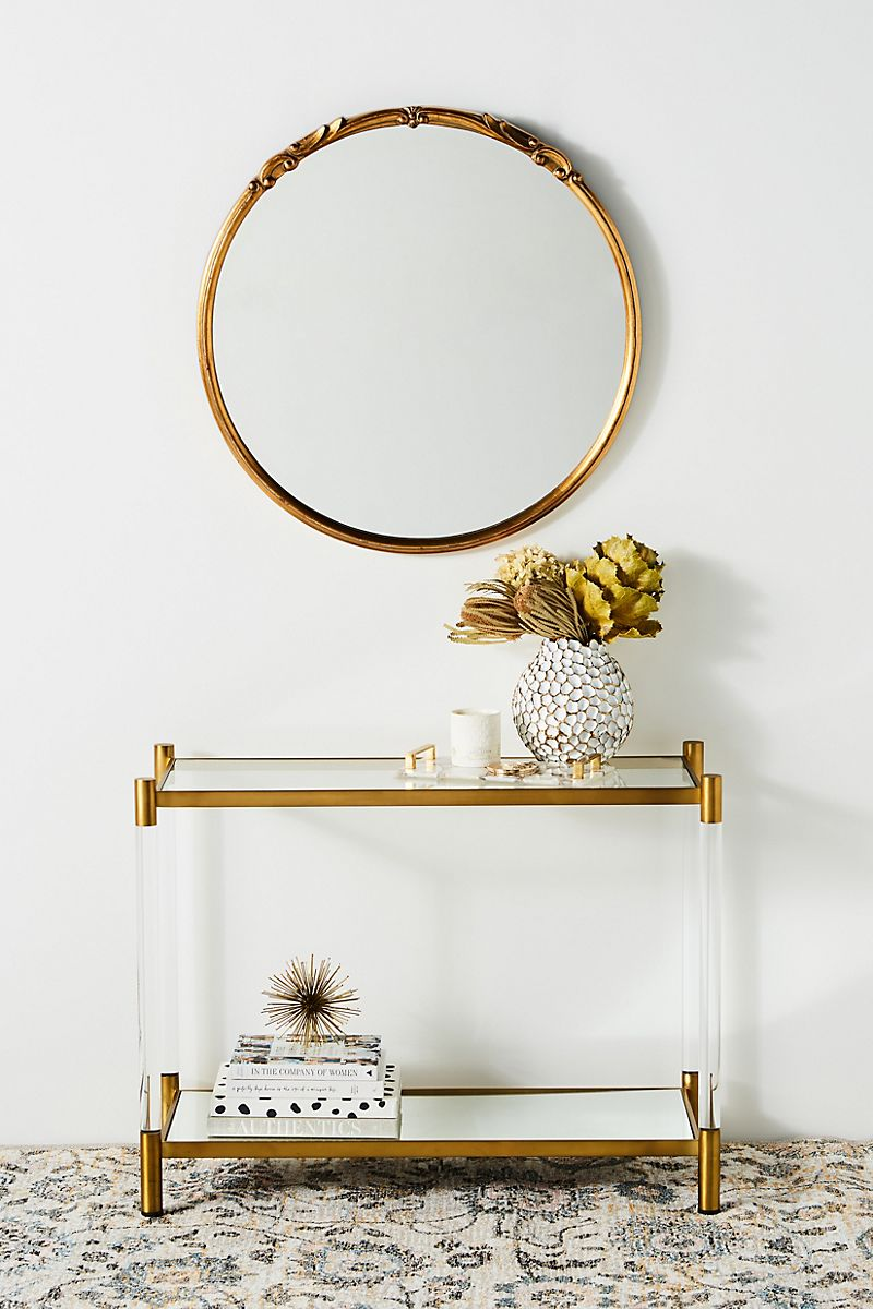Lucite-console-table-from-Anthropologie