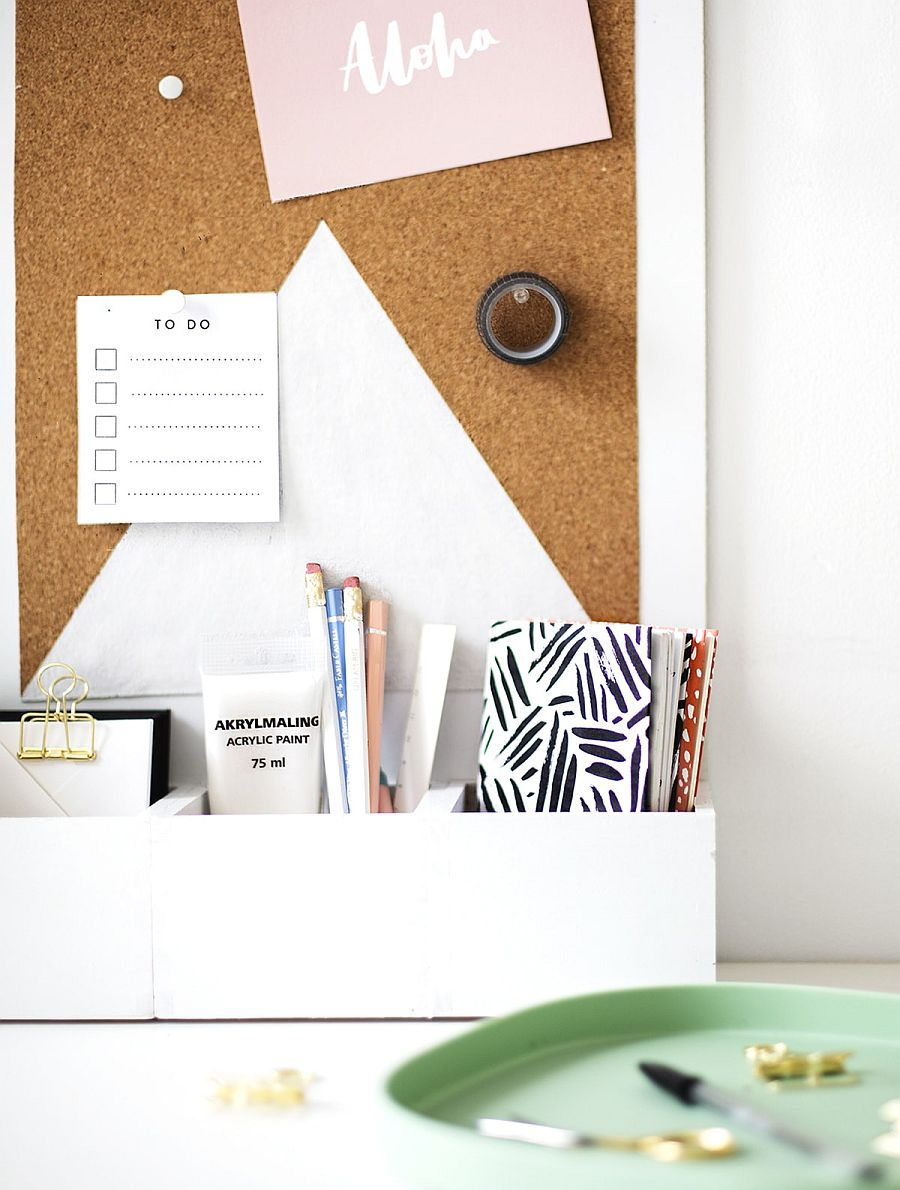 Modern-and-simple-DIY-Desk-Organizer-crafted-using-wooden-boxes-and-office-supplies