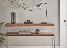 Modern-wood-and-metal-coffee-table-from-Cox-Cox-217x155
