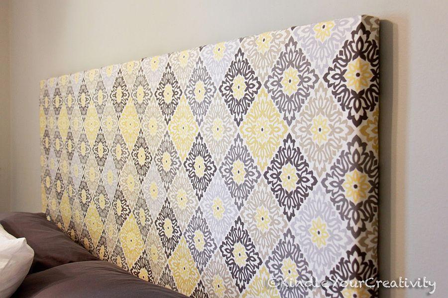 Retro-inspired-DIY-fabric-headboard