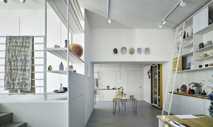 Change of Flow: Redone Gallery Blends Work and Home in the Heart of London