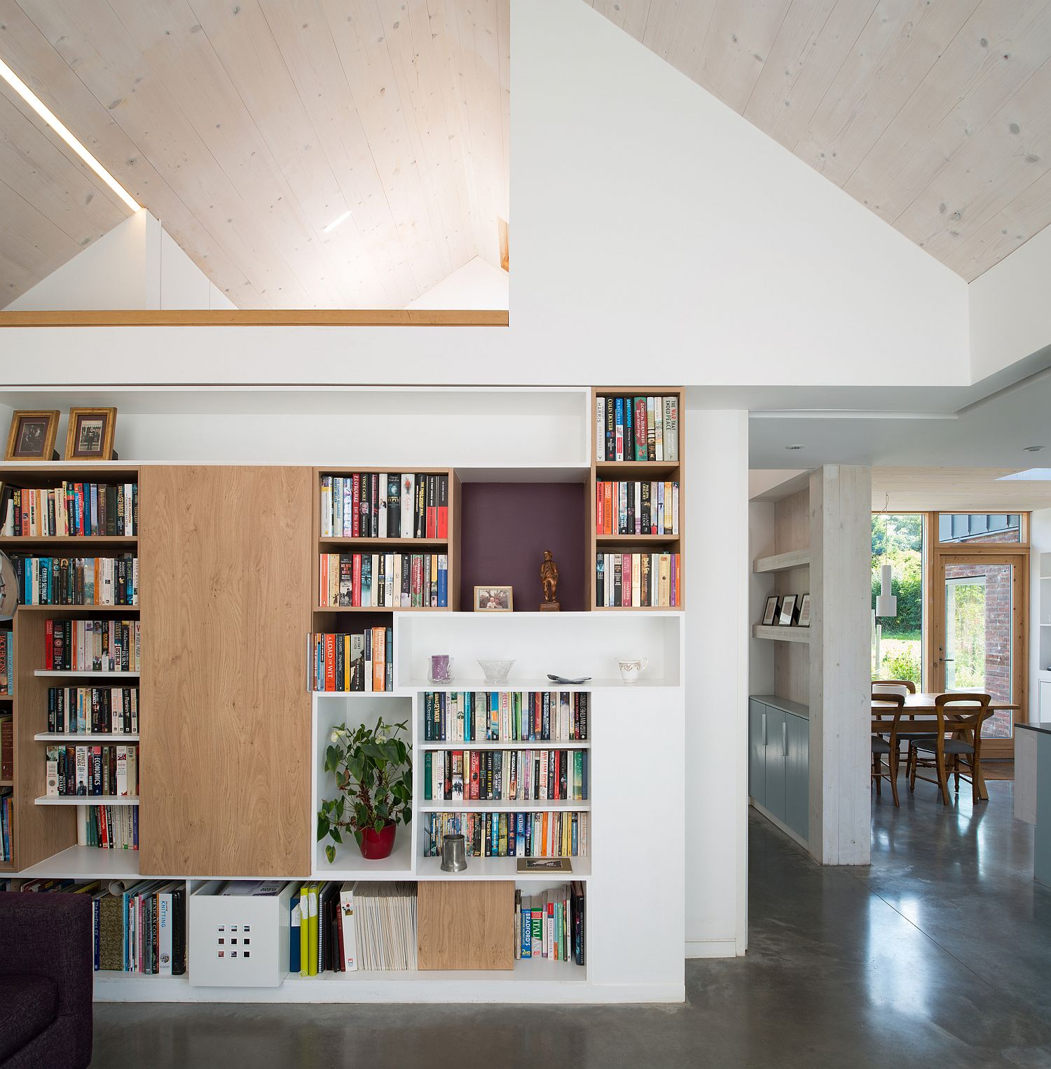 Smart-placement-of-books-in-the-living-room-adds-color-to-the-setting