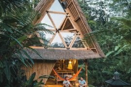 Magical Nights in the Bamboo House Take You into Jungles of Bali!