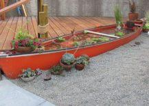 Stunning-water-canoe-backyard-pond-DIY-idea-217x155