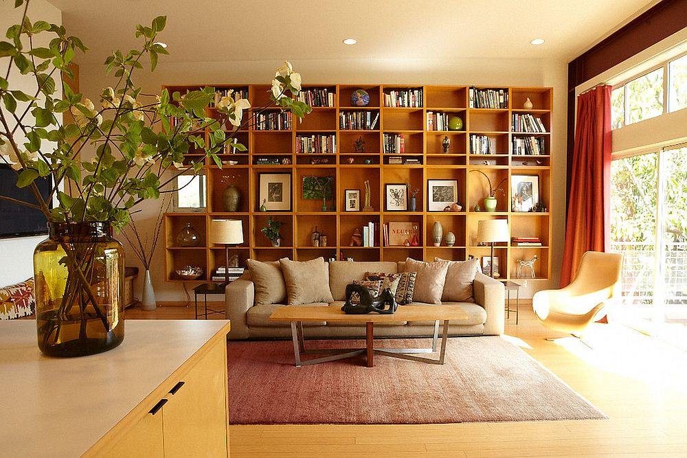 Use the bookshelf in more ways than one