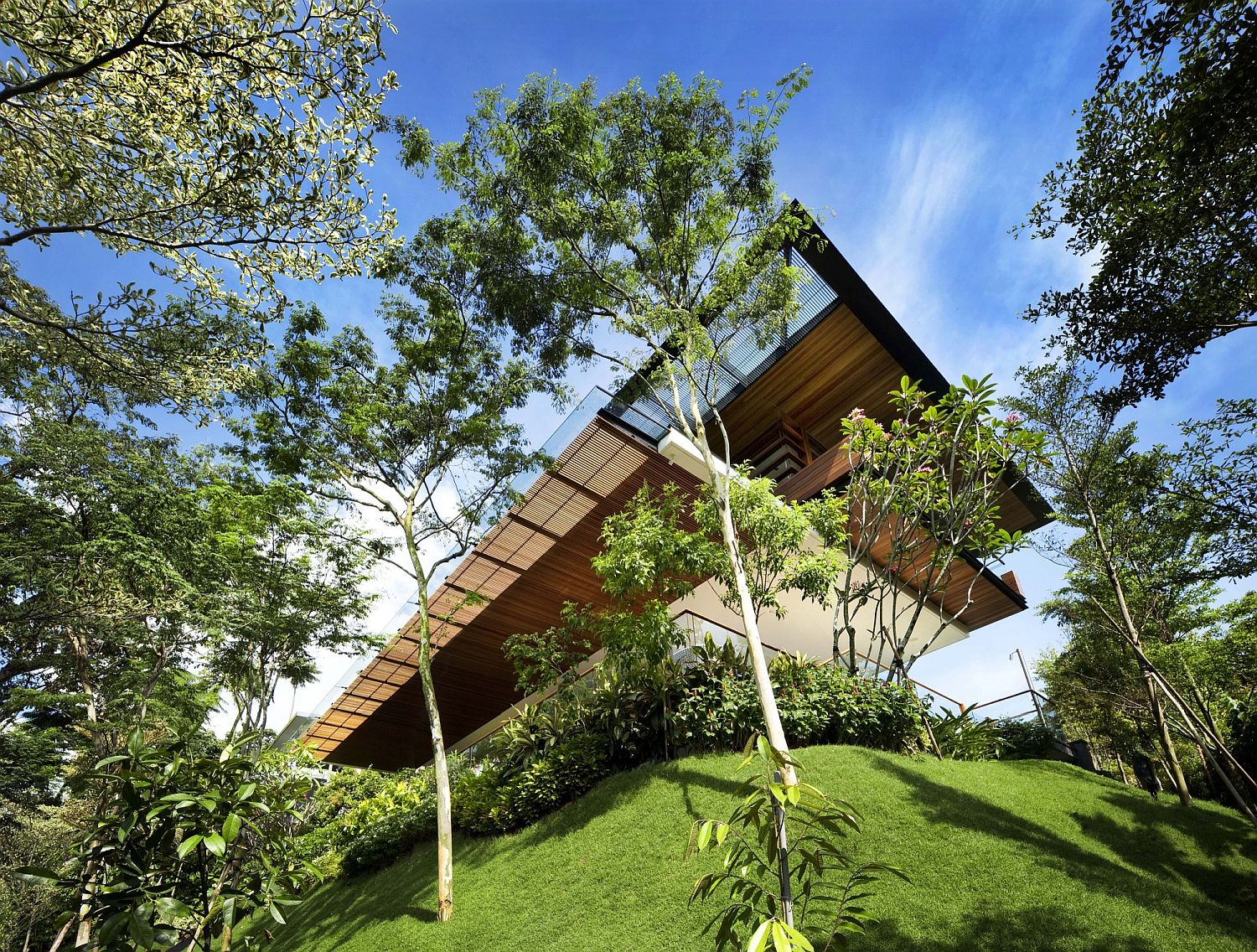 Botanica House in SIngapore is all about going green
