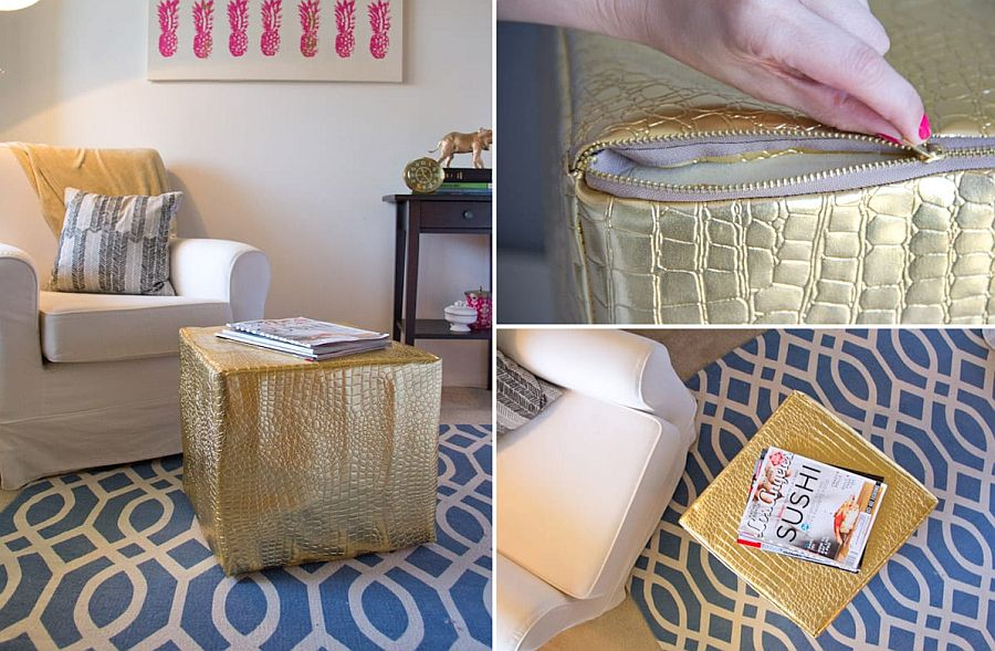 27 Budget-friendly DIY Ottomans That Look Chic