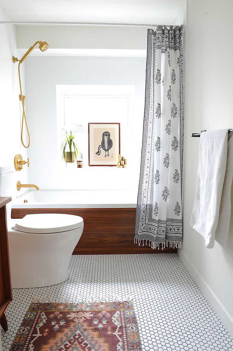 Contemporary-bathroom-in-white-with-wooden-elegance