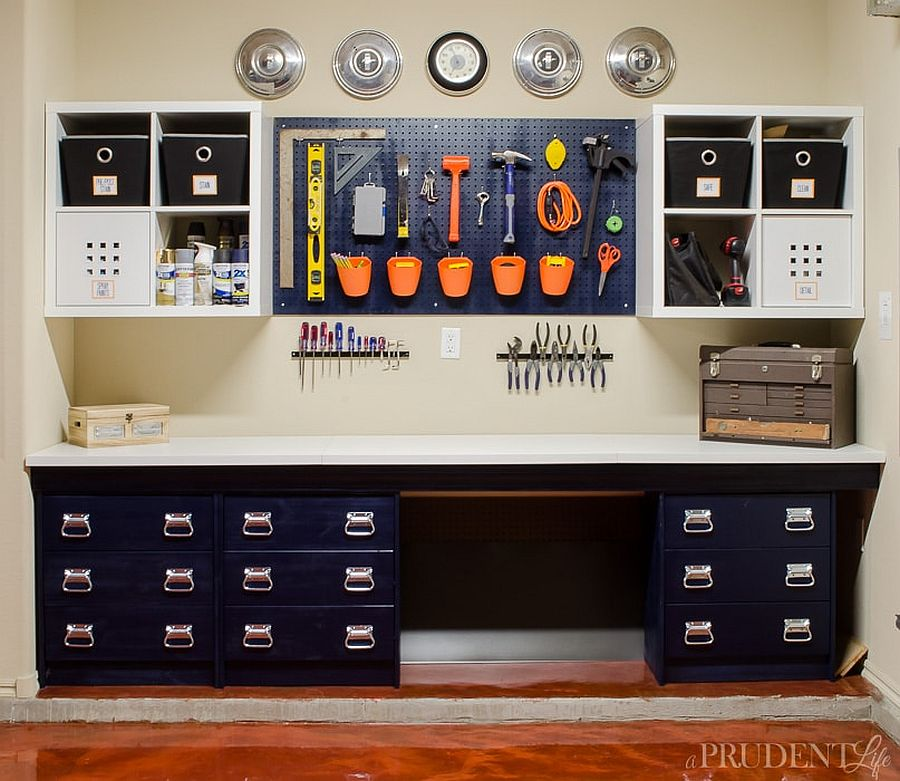 25 Garage Organization Tips and DIY Projects