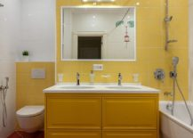 Dark-yellow-for-the-vanity-stands-stunningly-next-to-the-light-yellow-backdrop-217x155