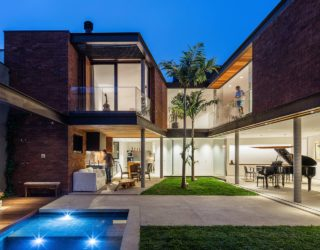 Going Green: Stylish Sustainable House Near Ibirapuera Park in São Paulo
