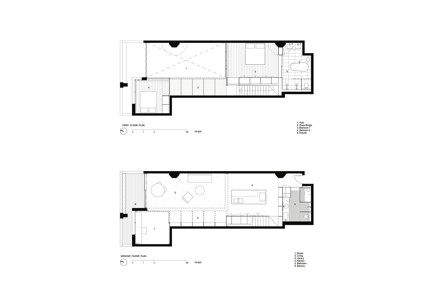 Design plan of the interior with fabulous modern interiors