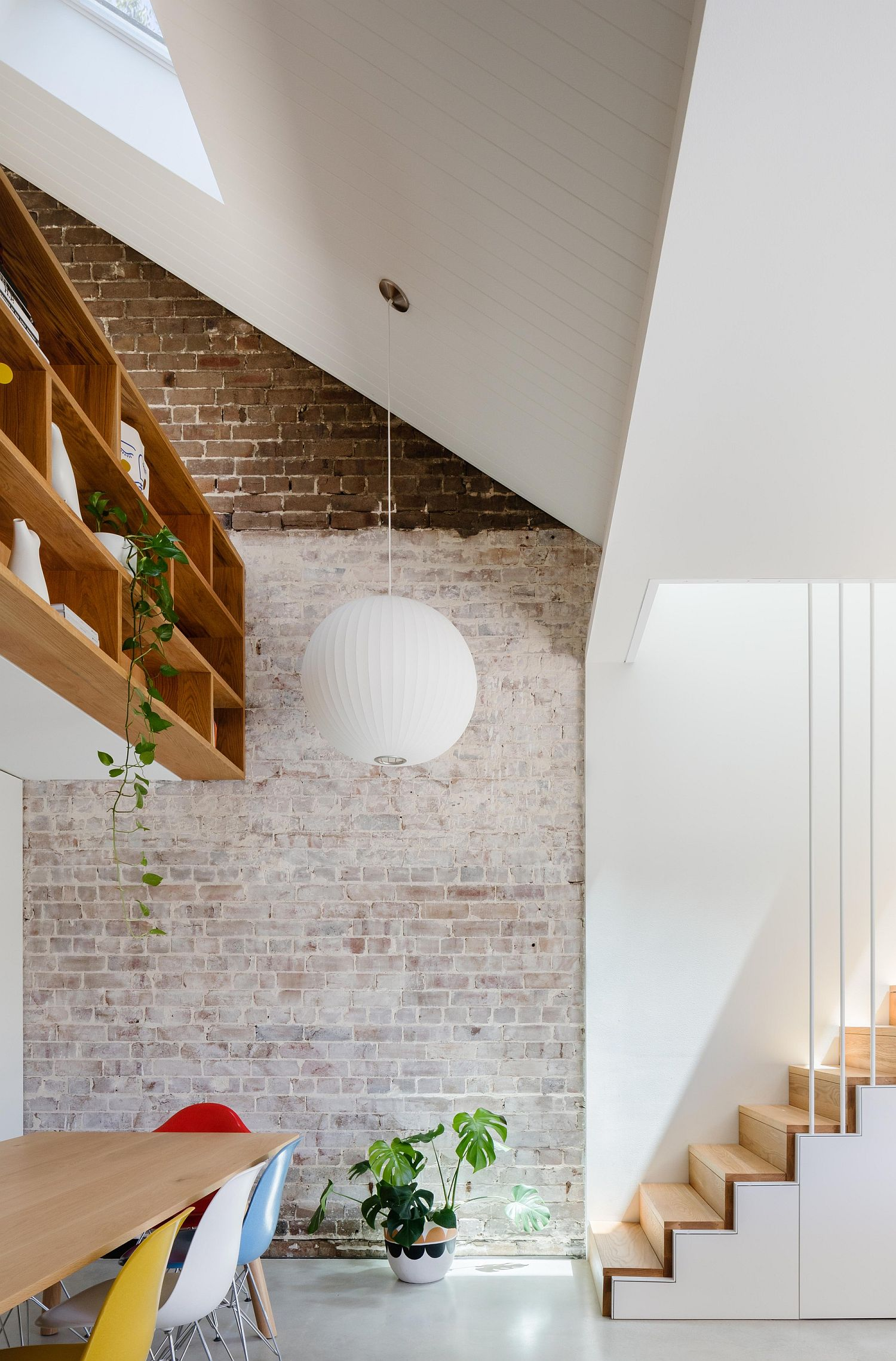 Discover the magic of exposed brick walls in the living room