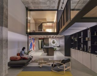 Century Old Car Assembly Factory Finds New Life as a Stunning Modern Home