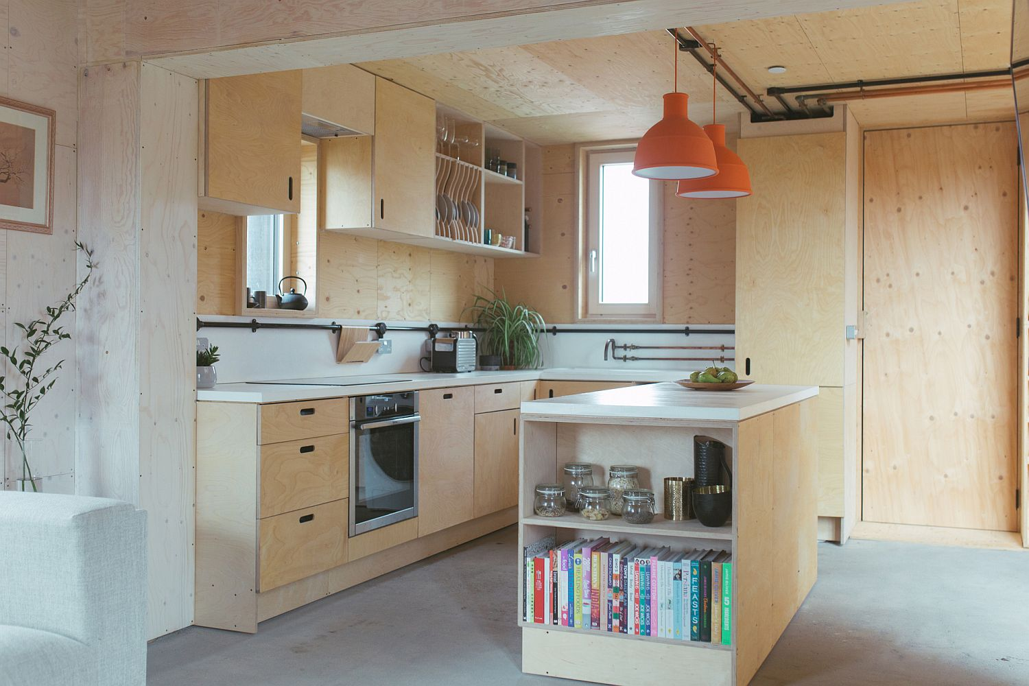 Fabulous flat-pack timber building boxes create a gorgeous home in UK