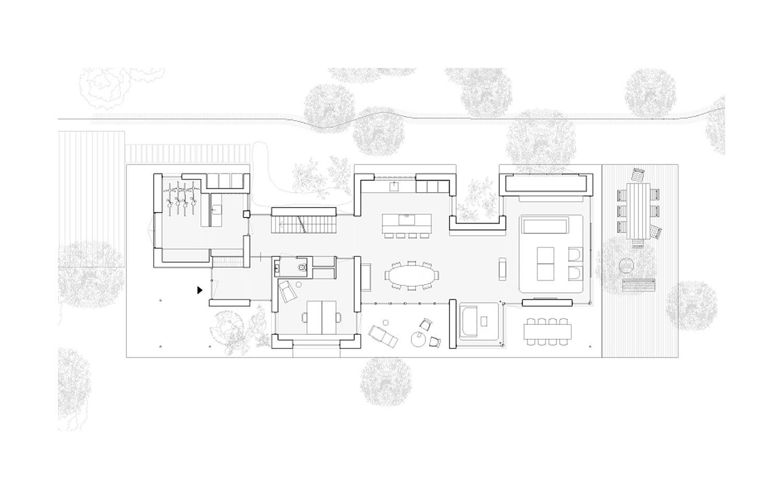 Floor plan of Villa Zeist 2 in Netherlands