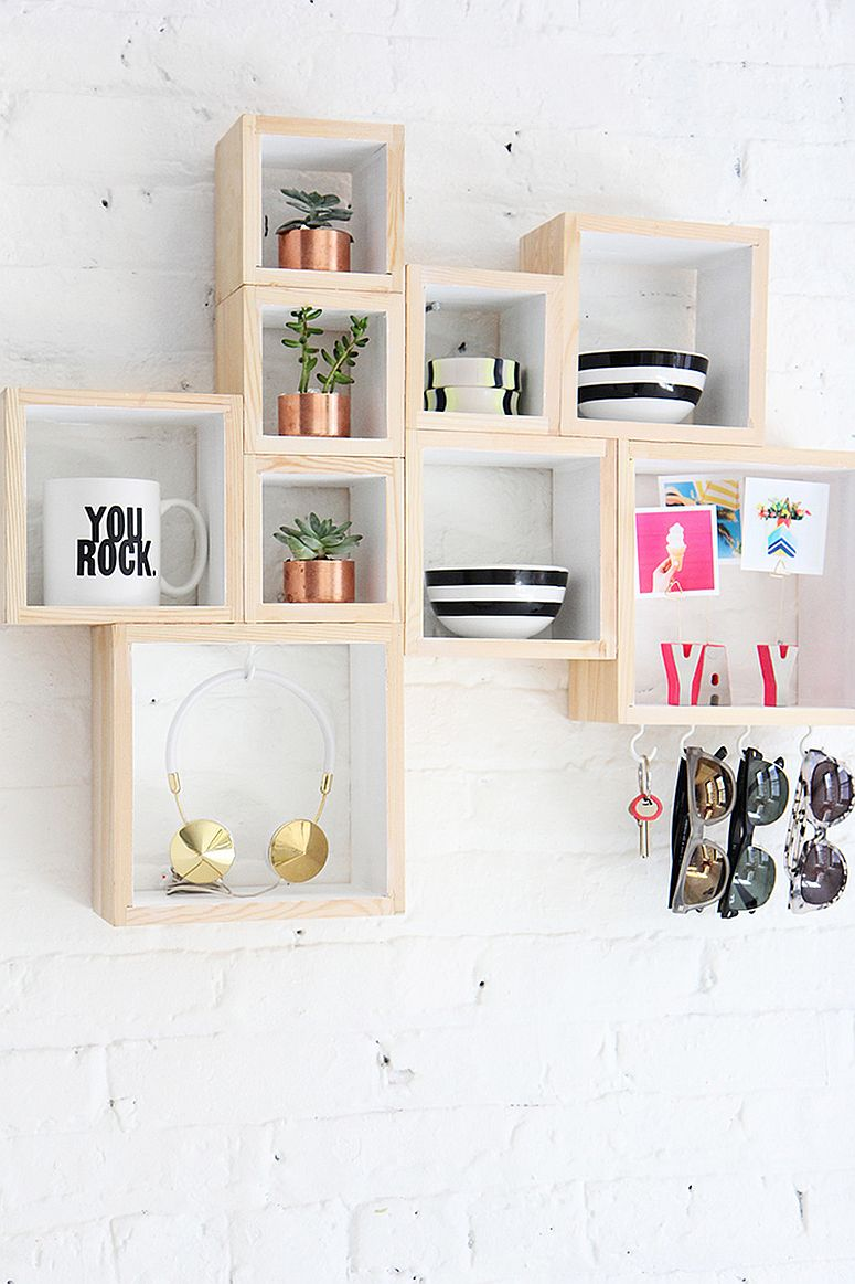 Functional and stylish DIY wooden boxes